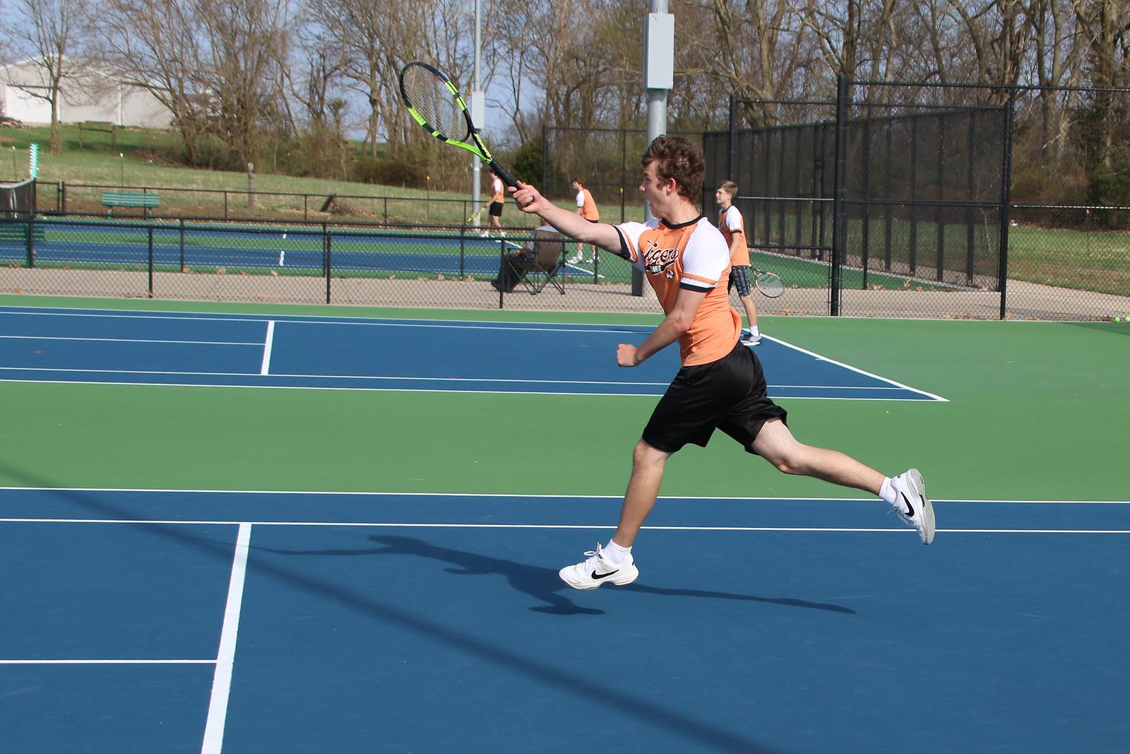 Photos:  Varsity And JV Tennis Vs Neosho