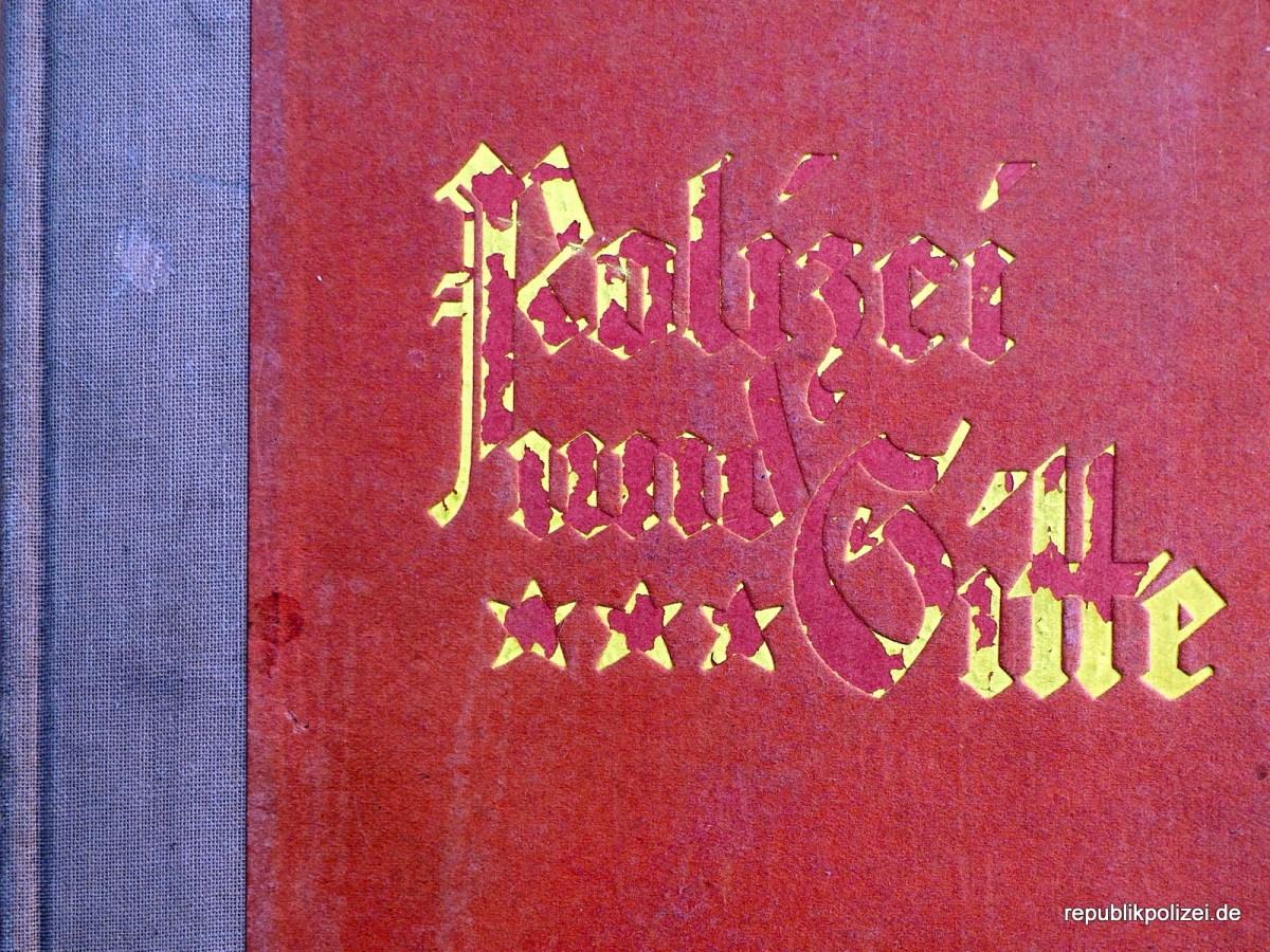 Buchvorstellung: Polizei und Sitte von Dr. Albert Moll, 1926