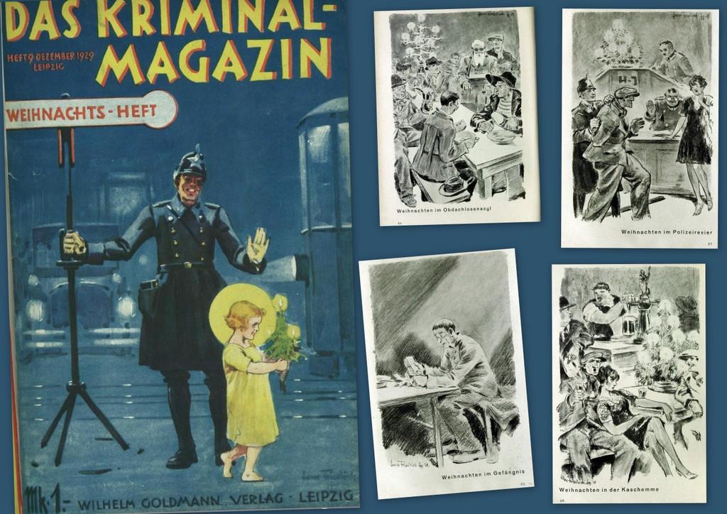 Kriminalmagazin Dezember 1929 – Weihnachten vor 90 Jahren