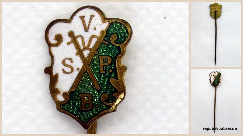 Gewerkschaftsnadel: Verband Sächsischer Polizeibeamer (V.S.P.B.)