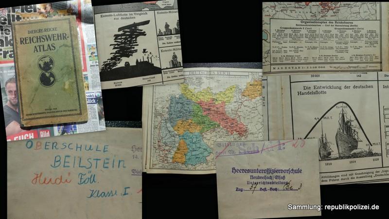 1926 – Reichswehr-Atlas