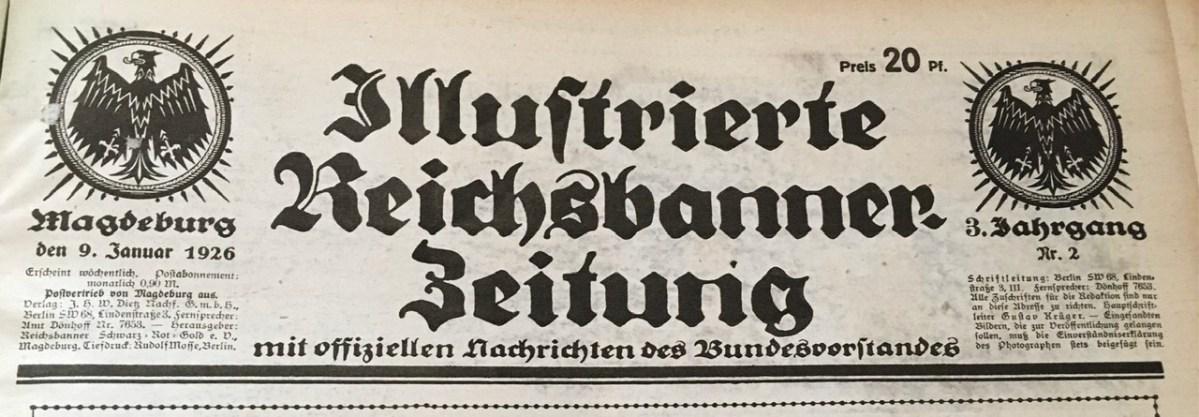 IRZ Nr. 2 / 1926 – Beamte und Republik