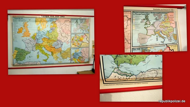 """Schulwandkarte: """"Europa von 1918 – 1945″"""