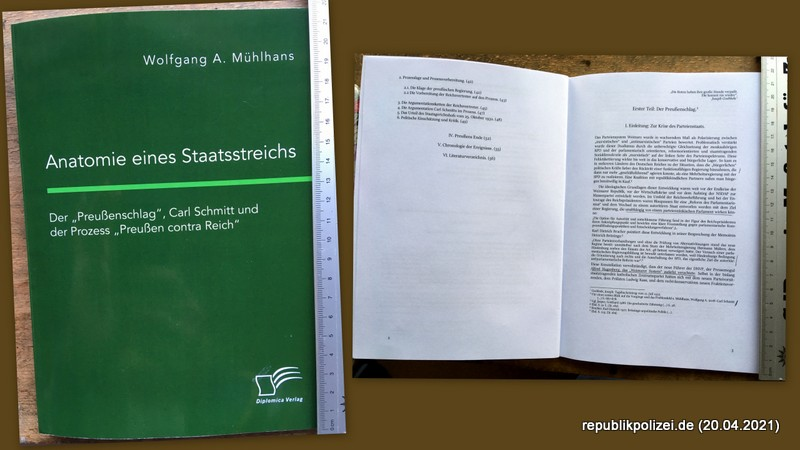 """Buchvorstellung: """"Anatomie eines Staatstreichs"""""""