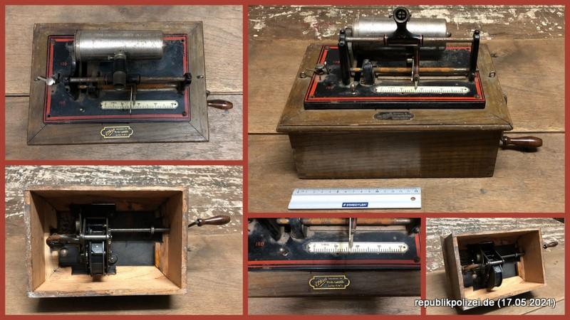 Phonograph/Parlograph der Fa. Wira Kriminaltechnik