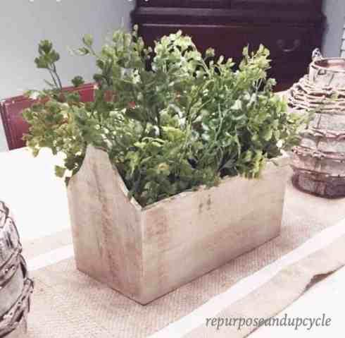 Toolbox Planter Decor