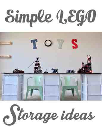 Simple Lego Storage Ideas