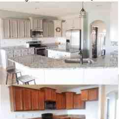 Kitchen Updates Countertop Tile Budget Friendly Modern Farmhouse Update
