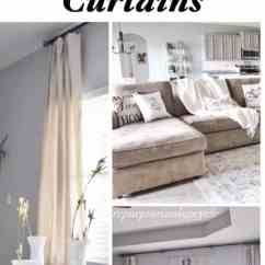 Modern Curtains For Living Room Pictures Interior Design Pics Farmhouse Refresh With Diy Drop Cloth