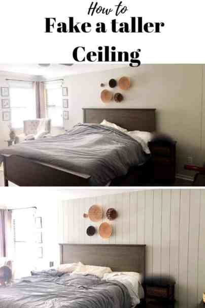 How to fake a taller ceiling