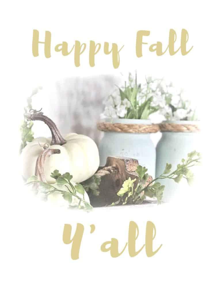 happy fall y all