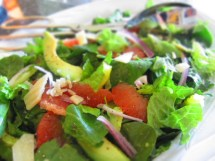 Spinach Salad with Avocado and Grapefruit