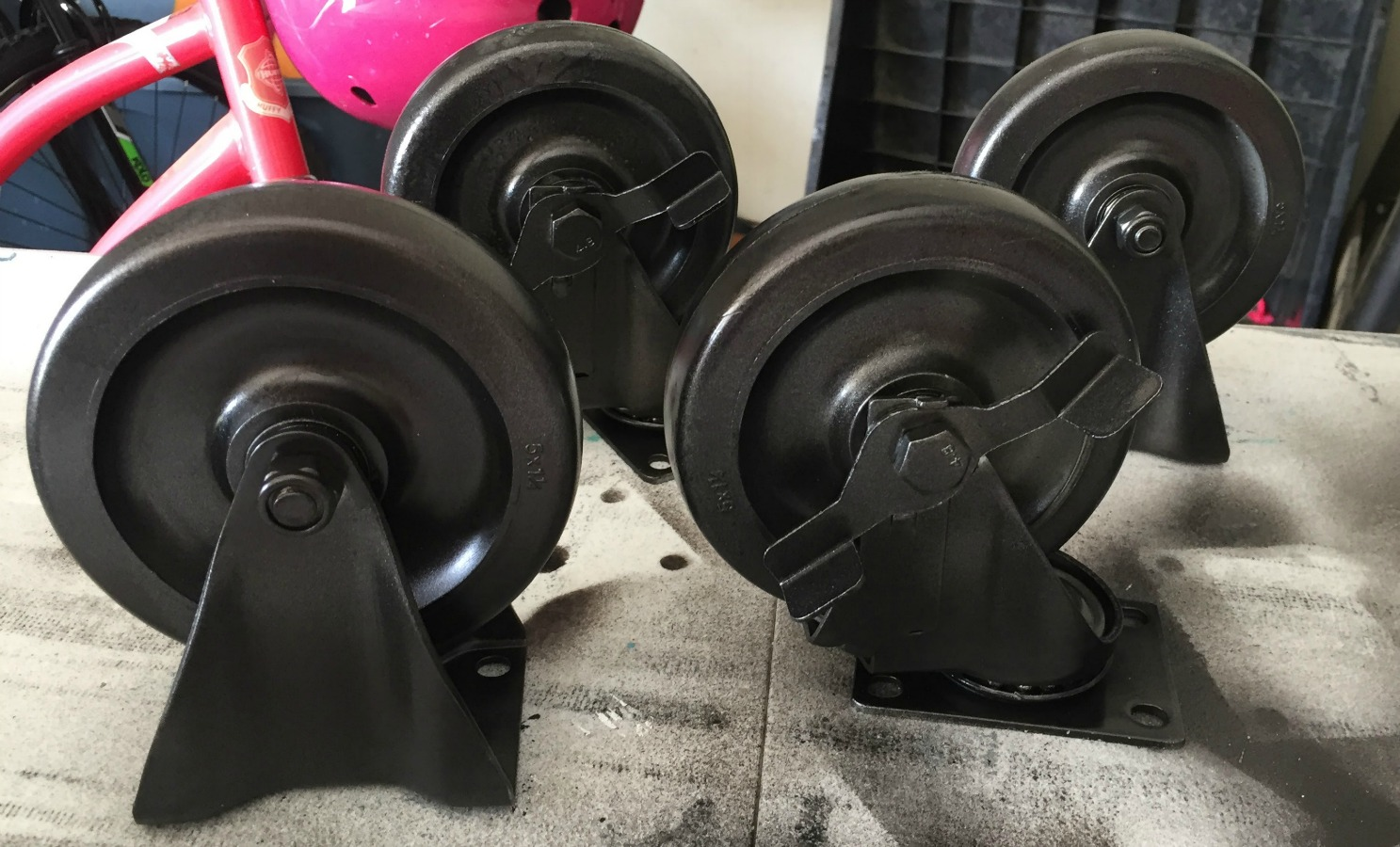 industrial wheels for furniture