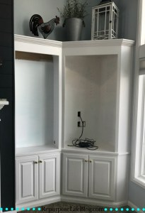 Update your built-in cabinets with little time and money