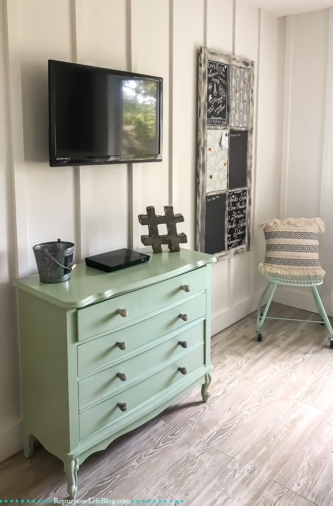 How to restore the look of an old dresser