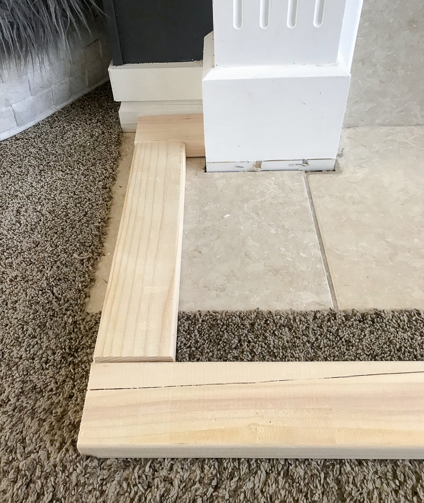 base of support for hearth
