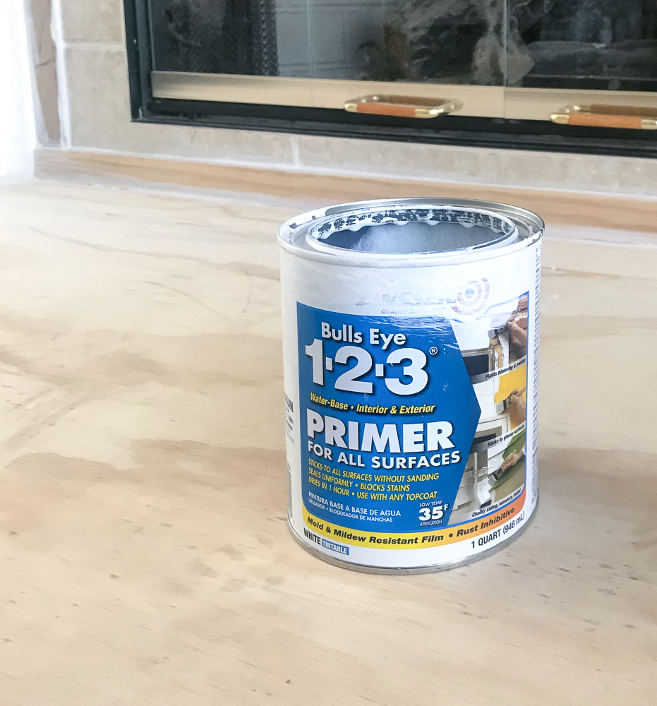 primer used for fireplace
