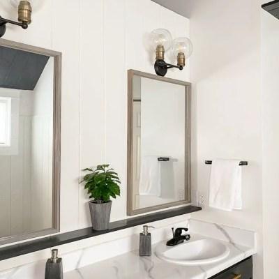Master Bathroom Makeover Countertops-One Room Challenge Week 4