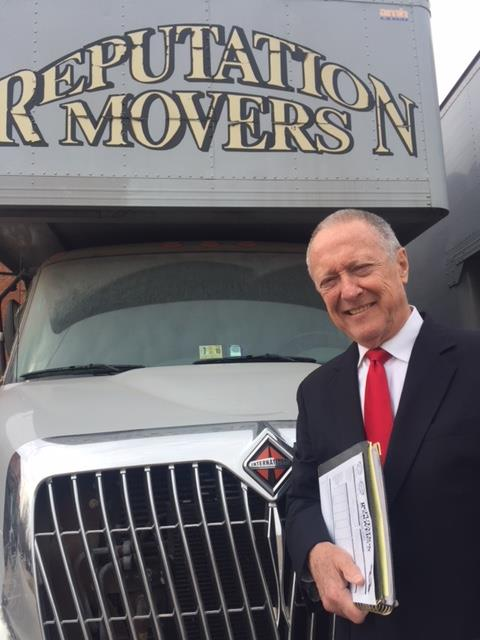 Patrick Carr, Owner, Reputation Movers today, present on Your move day.
