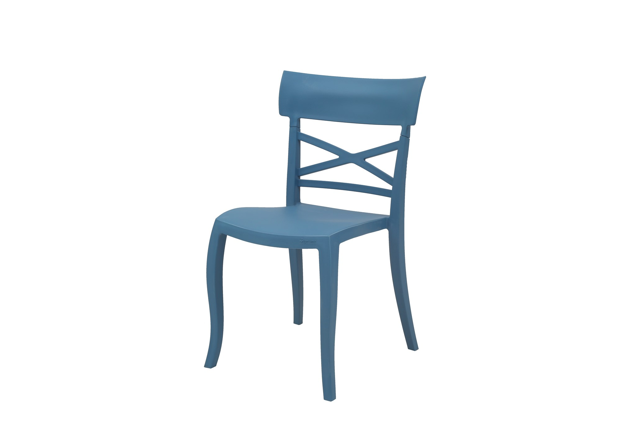 blue bistro chairs swing chair pakistan commercial grade aspen brands