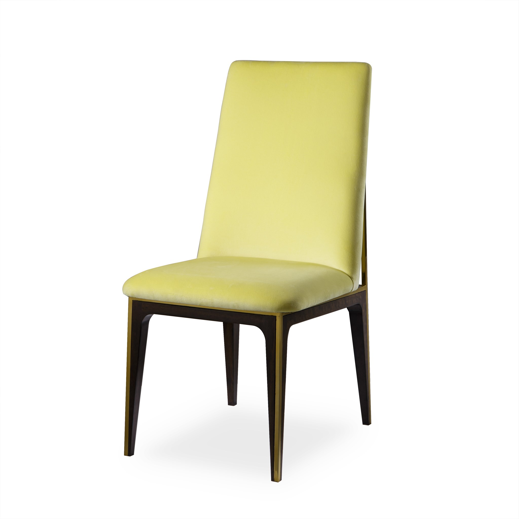 Yellow Dining Chair Silhouette Dining Chair Canary Yellow Dining Chairs