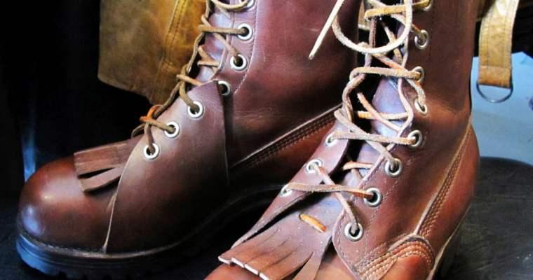 Pierre Paris & Sons Vintage Logging Boots