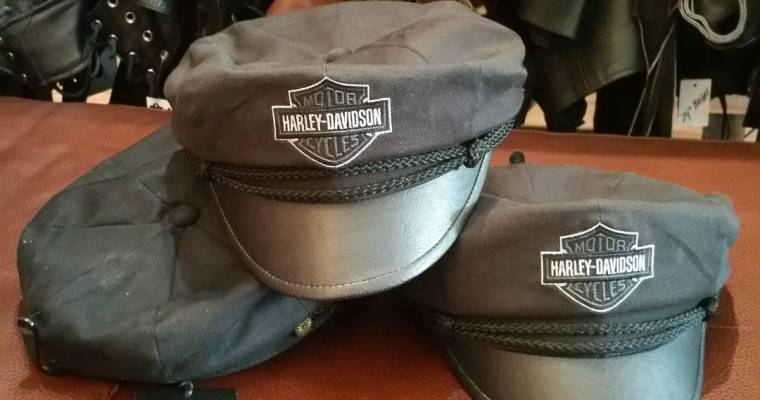 These brand new Harley Davidson hats just rode in! Several sizes. Forming an MC? #rerides