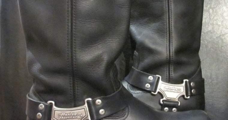 Classic Harley Davidson Harness Boot