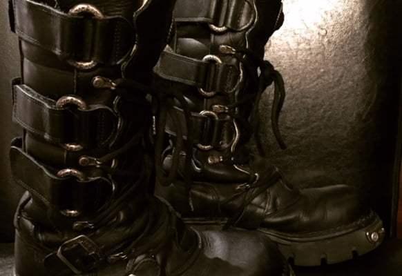 New Rock Badass Boots!