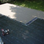 low slope roof system