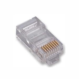100 pz: Plug RJ45 Cat5e UTP 8 contatti (8p8c)