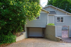 Drive Under Garage Accessed from Alley