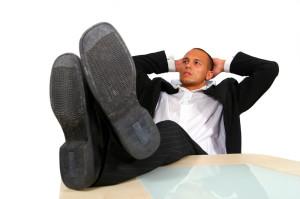 Relaxing Desk
