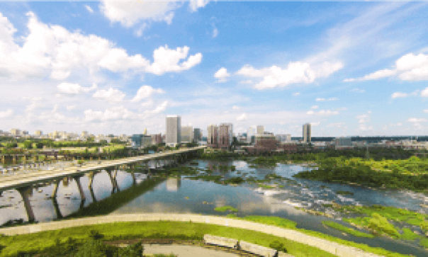 7west James River and City View