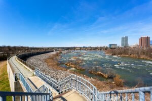 James River Floodwall Trail re|RVA