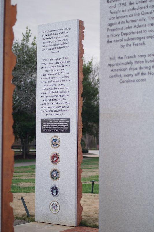 Memorial in Garner, NC