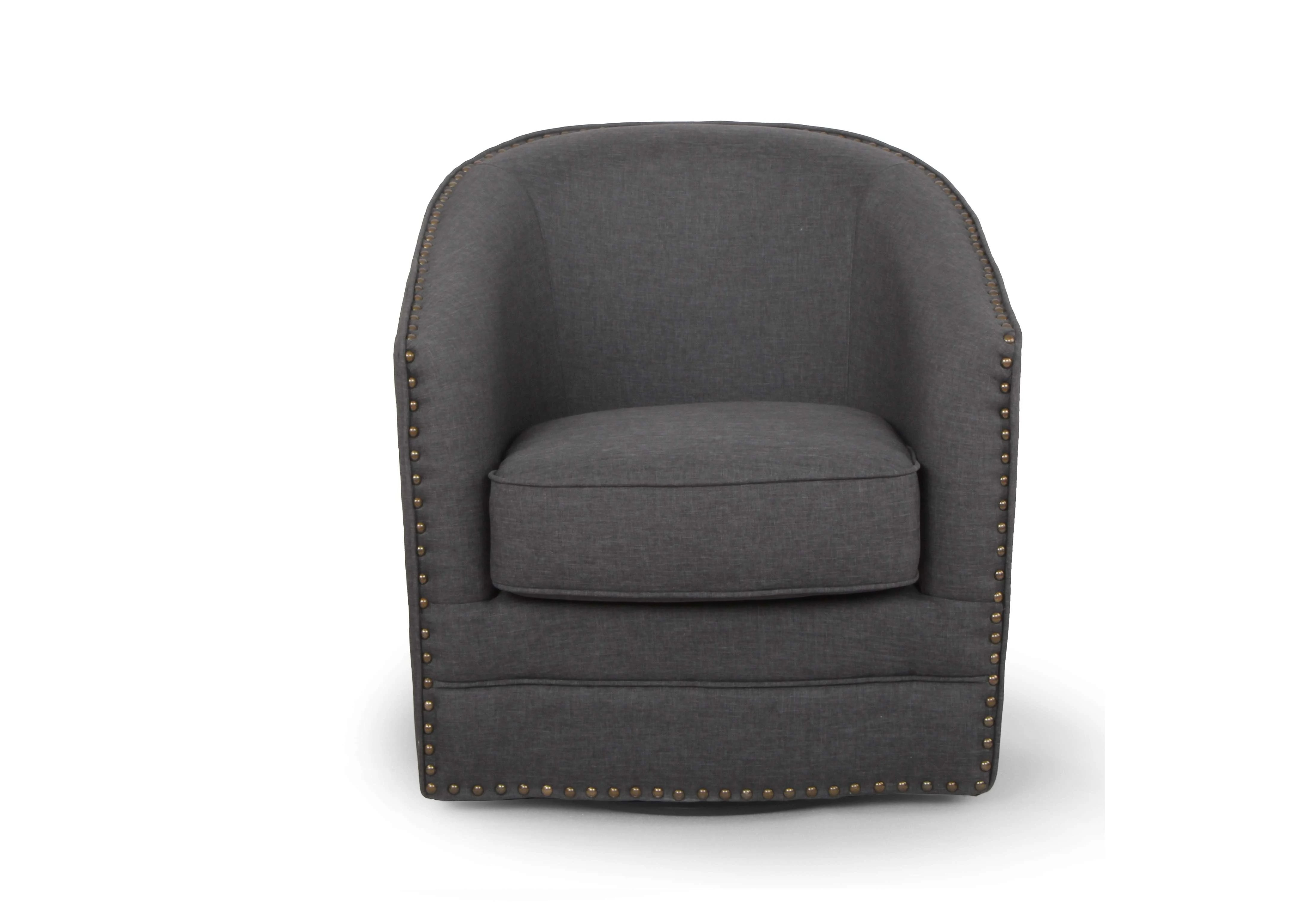 Swivel Tub Chair Baxton Studio 119 6665 Gdk