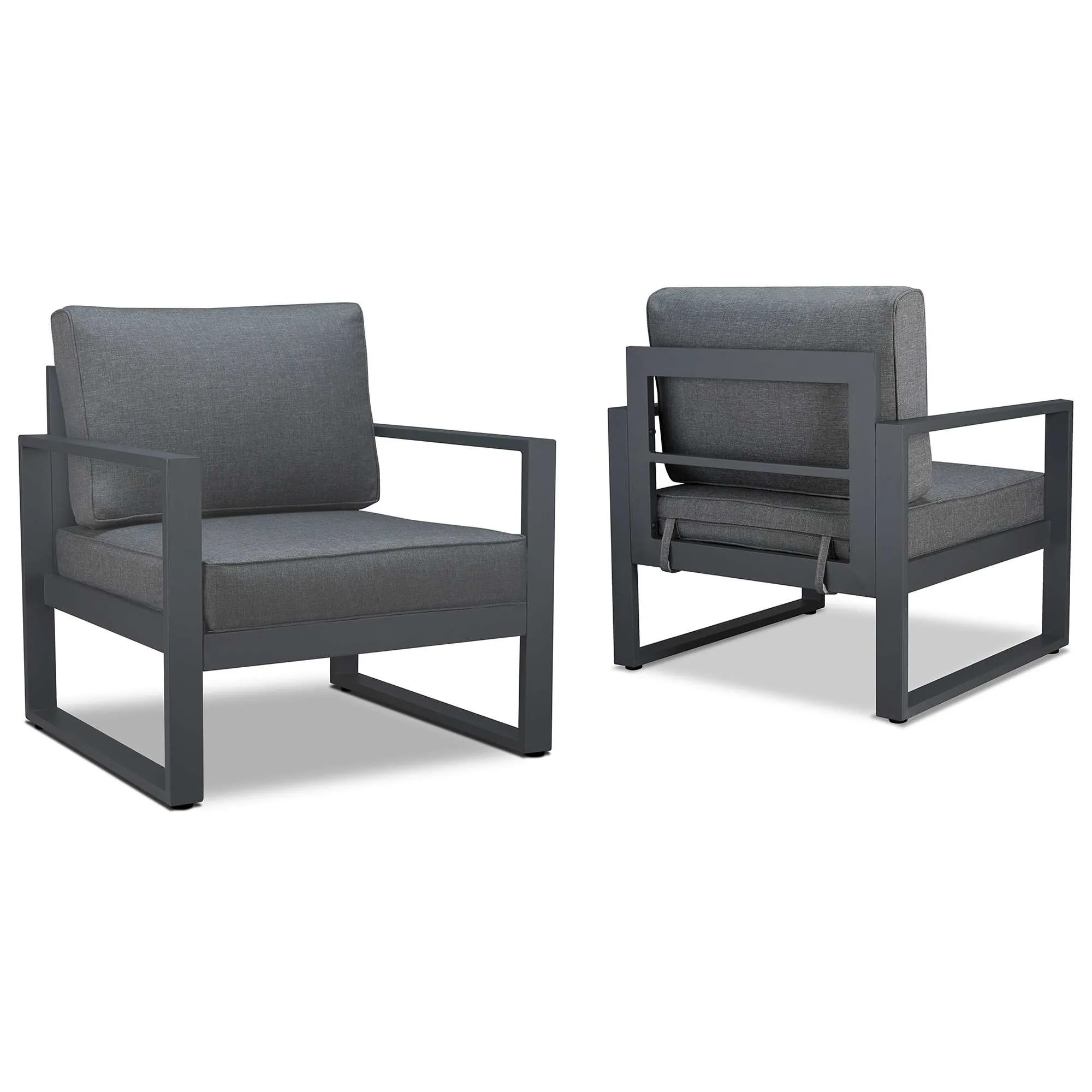 Outdoor Chair Set Realflame 9611 Gry