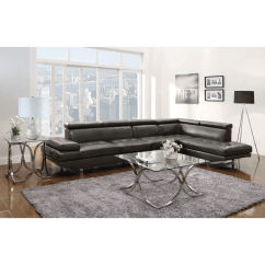 Coaster Bachman Sofa Reviews Promotional Code For Sofaworks Piper Charcoal Leather Sectional And