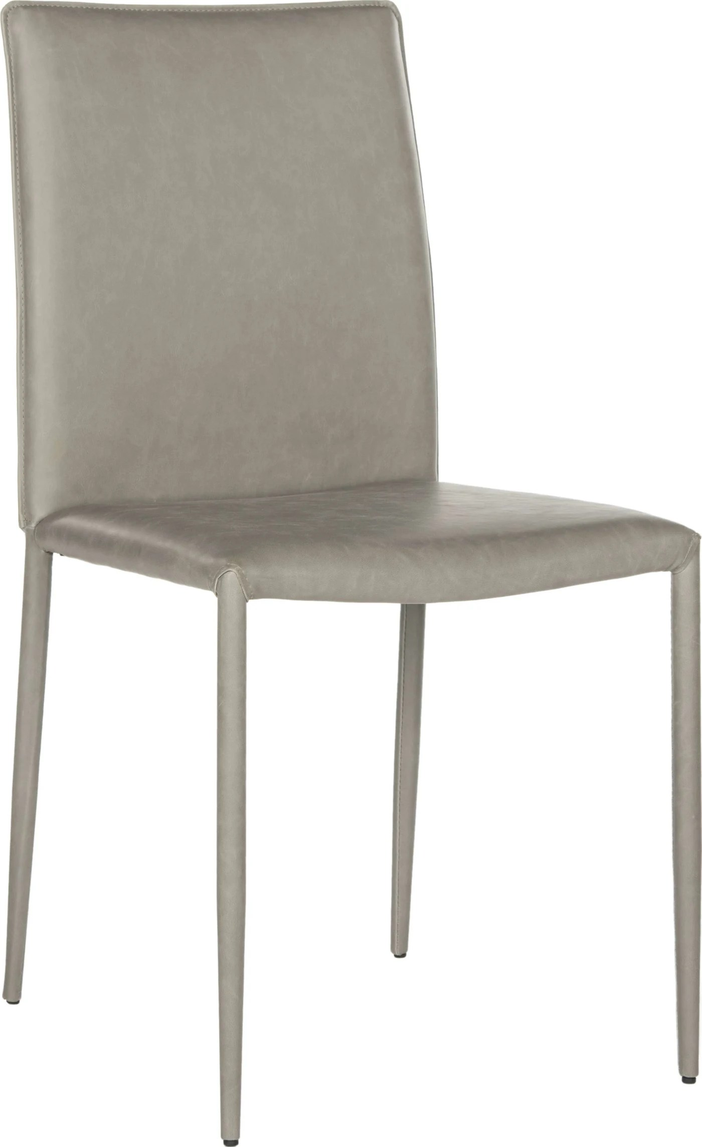 safavieh karna dining chair outdoor wicker chairs uk antique grey 19 quot set of 2