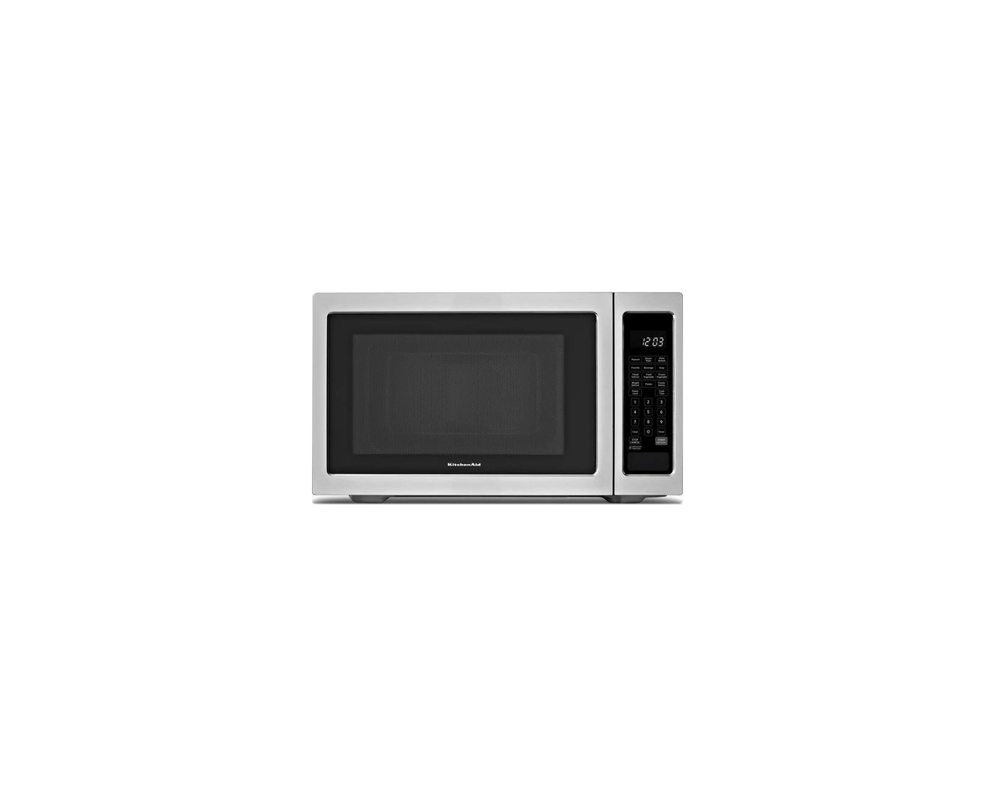 kcms1655bss by kitchenaid countertop microwaves goedekers com