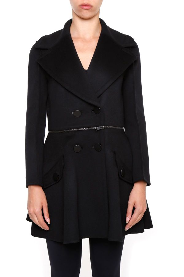 Fendi - Coat Black Nero Women' Coats Italist