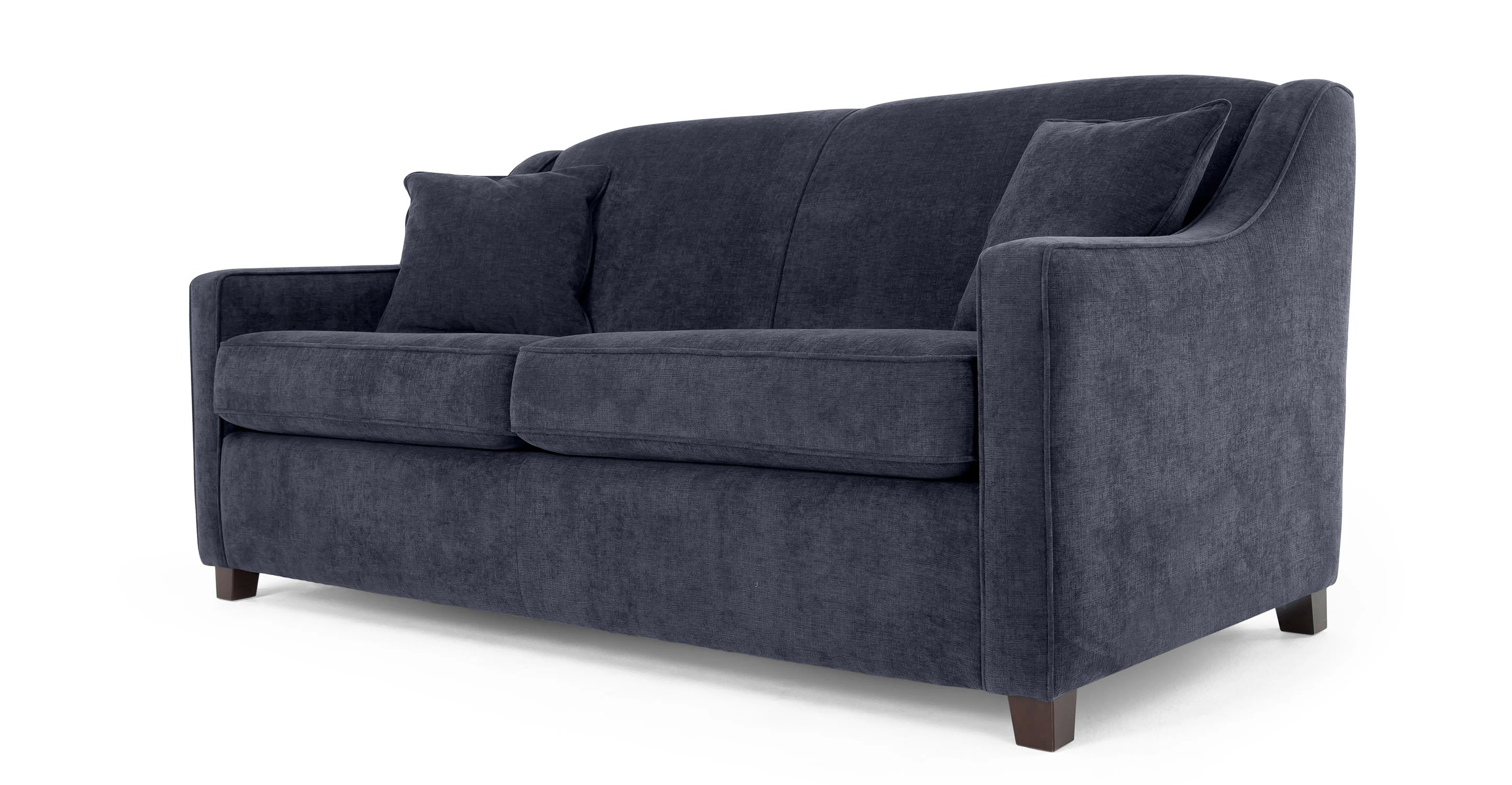 midnight blue sofa palliser leather quality halston bed made