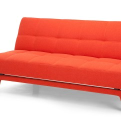Sleeper Sofa Bed Lounge Suite Sydney Yoko In Saffron Orange Made