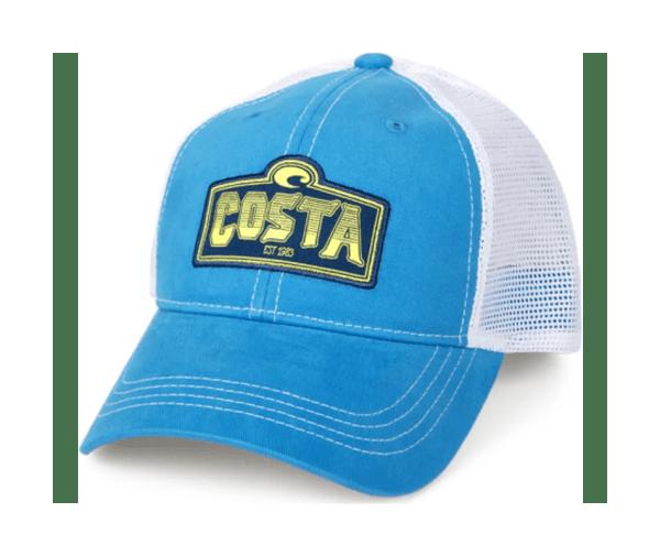 f5bb5e36427e Costa Shield Trucker Hat Blue - Year of Clean Water