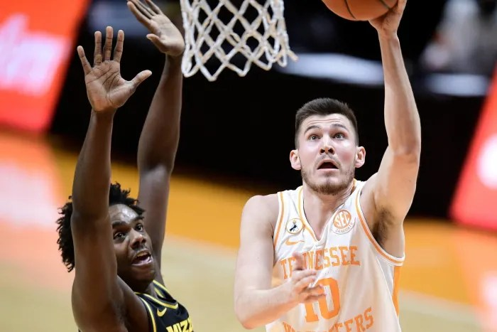 John Fulkerson, Forward, Tennessee