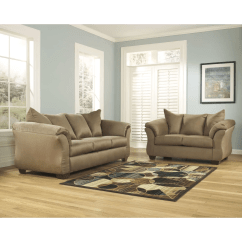 Ashley Darcy Sleeper Sofa Review Best American Made Sofas Signature Design By Mocha Full