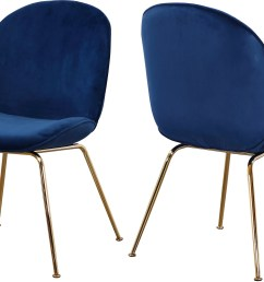 paris navy velvet dining chair set of 2 [ 2500 x 1650 Pixel ]