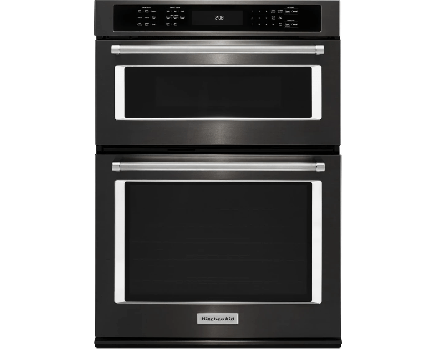 koce500ebs by kitchenaid combination wall ovens goedekers com