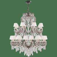 adrianna large chandelier
